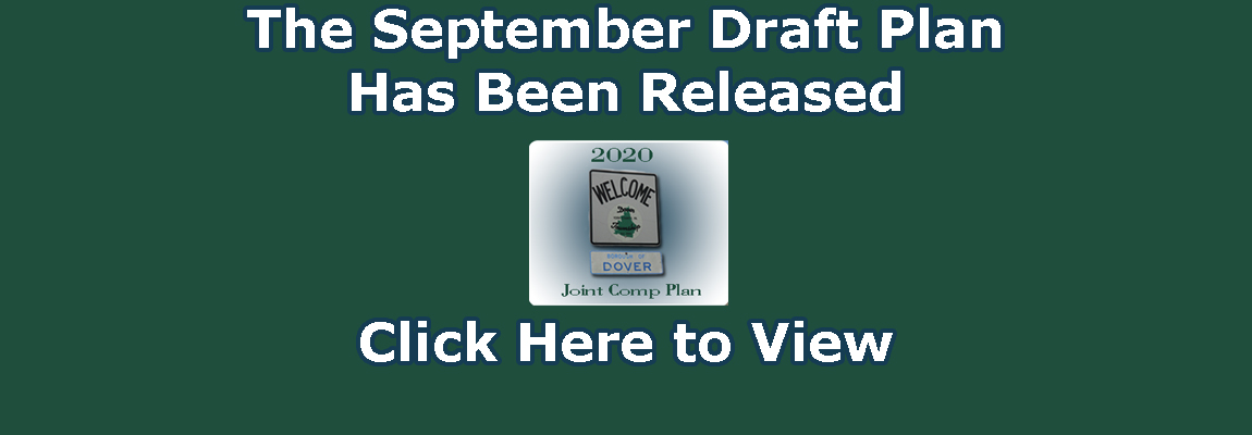 The September Draft Plan Has Been Released
