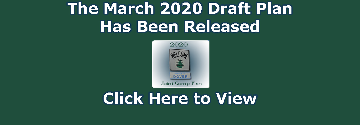 The March 2020 Draft Plan Has Been Released